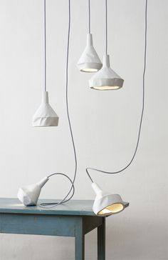 like paper concrete lamp ++ aust amelung