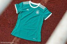 Germany Women's EURO 2017 adidas Away Kit