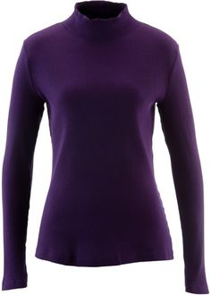 Shirt, bpc bonprix collection, donkerpaars