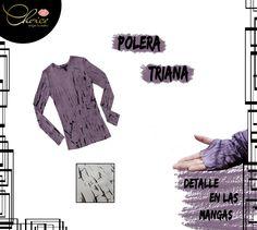 ¿No sabes qué ponerte para un día tan frío como hoy? La Polera Triana es una muy buena opción. #In #Choice elige tu estilo