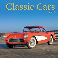 Classic Cars Wall Calendar: Take a drive down memory lane with these Classics from the 50s, 60s, and 70s! Each month features a vintage car with detailed close-up shots.This gorgeous 2013 calendar is the ultimate tribute to classic cars.  http://www.calendars.com/European-Car/Classic-Cars-2013-Wall-Calendar/prod201300000640/?categoryId=cat00690=cat00690