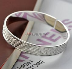 Cheap Silver Jewelry, Crystal Jewelry, Water Ripples, Sterling Silver Bracelets, Crystals, Classic, Derby, Crystal, Classic Books