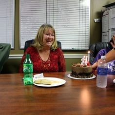 Happy Birthday to our lovely administrative assistant Pam!