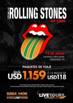 The Rolling Stones - ZIP Code Tour - Orlando - US