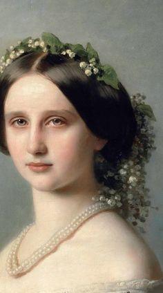Louise Grossherzogin von Baden - Maler: Franz Xaver Winterhalter