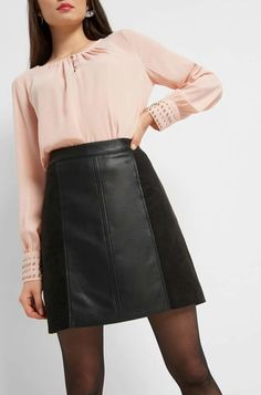 Leather Skirt, Skirts, Clothes, Fashion, Mini Skirts, Cool Outfits, Leather, Outfits, Moda