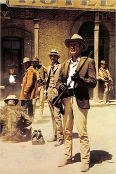 The Wild Bunch is noted for intricate, multi-angle, quick-cut editing, using normal and slow motion images, a revolutionary cinema technique in Badass Movie, Movie Stars, Movie Tv, Western Film, Western Movies, Westerns, Sam Peckinpah, The Wild Bunch, Cinema