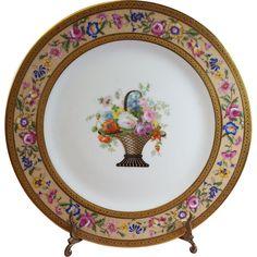 C. Ahrenfeldt Limoges Cabinet Plates set of 12