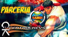 Parceria CentralKeys Area de Games1