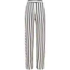 Nicholas Women's Striped Wide-Leg Pant