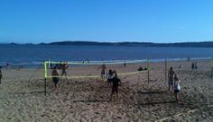 Volleyball at 360, Swansea Uni's Beach and Water Sports Centre
