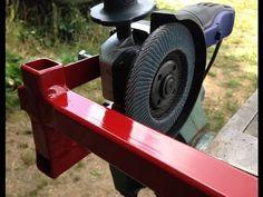 The angle grinder bracket