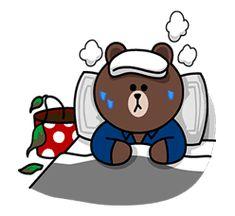 Cute Cartoon Images, Cute Love Cartoons, Cony Brown, Brown Bear, Brown Line, Cute Love Pictures, Line Friends, Little Twin Stars, Kawaii Wallpaper