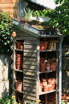 Potting shed | The cottage garden was obviously much loved a… | Flickr