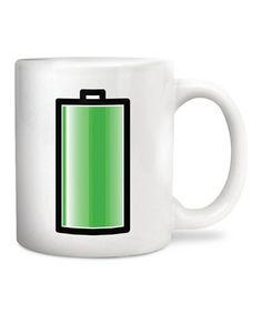 Battery Morph Mug  #zulily