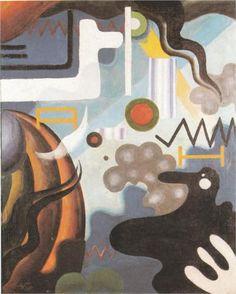 Julius Evola (1898 - 1974)    Dada   Paesaggio interiore, apertura del diaframma - 1921