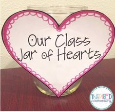 Valentine's Day is right around the corner so I wanted to share one of my favorite writing activities: My Jar of Hearts.     Two things I lo...