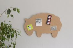 Magnets & Boards – Cork Board, Push Pin Cork Board, Sheep Wall Decor – a unique product by Wooden-Dots on DaWanda Minimal Decor, Man Room, Wall Hanger, Decorating Your Home, Office Decor, Cork, Sheep, Art Projects, Wall Decor