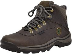 Timberland Men's White Ledge Mid Waterproof Ankle Boot - Best Waterproof boots for hiking. Timberland Hiking Boots, Timberland Mens, Best Hiking Boots, Men Hiking, Hiking Gear, Hiking Trails, Yellow Boots, Black Boots, Best Waterproof Boots