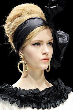 Hermosos peinados de moda   Tendencia años 60