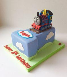 Thomas The Tank Engine number 1 cake