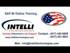 SAP BI ONLINE TRAINING IN USA | WHAT IS DTP | Intellitechnologies.com