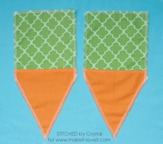 Sew A Bag Sew a carrot treat bag for easter! - Today's contributor is Crystal from Stitched By Crystal. All posts written by Crystal for Make It and Love It can be found HERE. Hello Make it Small Sewing Projects, Sewing Crafts, Craft Stick Crafts, Diy Crafts, Bunny Bags, Diy Ostern, Easter Bunny Decorations, Easter Crafts For Kids, Treat Bags