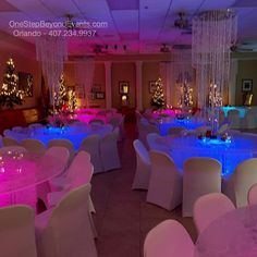 Light up tables Orlando will travel. or more less than other services. Florida Wedding Venues, Best Wedding Venues, Outdoor Party Lighting, Wedding Lighting, Lighting Ideas, Tent Lighting, Palm Beach, Glow Table, Melbourne