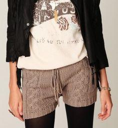 vyazaniye-shorti Knit Shorts, Casual Shorts, Knitting, Shopping, Women, Fashion, Tejidos, Breien, Moda