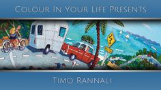 In this art TV show episode Timo Rannali is interviewed with Colour In Your Life about painting, drawing, art workshops and art techniques. Life Tv, Acrylic Painting Techniques, Australian Artists, Artist At Work, Your Life, Art Tutorials, Colours, Landscape, Drawings