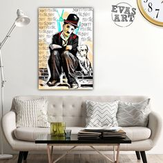 EVASART (@evas_art_it) • Foto e video di Instagram Art It, Video, Contemporary Art, Couch, Furniture, Instagram, Home Decor, Settee, Decoration Home