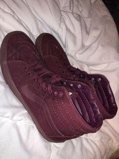d20198de9ca64d New Women s 10 Mens 8.5 VANS Sk8-Hi Slim Burgundy Skateboarding Shoe High  Top  fashion  clothing  shoes  accessories  unisexclothingshoesaccs ...