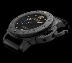 Luminor Submersible 1950 Carbotech™ 3 Days Automatic - http://poshist.com/2016/01/luminor-submersible-1950-carbotech-3-days-automatic/