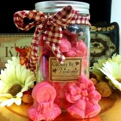 Candles by Victoria - Highly Scented Candles & Wax Tarts - Jar Full Of Christmas