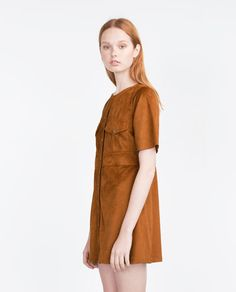 Image 1 of DRESS WITH POCKETS from Zara