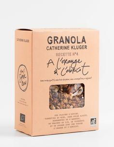 "Granola Catherine Kluger ""Orange and Apricot"" granola"
