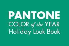 PANTONE Color of the Year Holiday Look Book is here! Via @Pantone #celebstylewed #weddings #nuptials