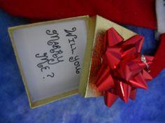 engagement idea for around Christmas