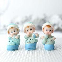 Set bebelusi in ghetute albastre