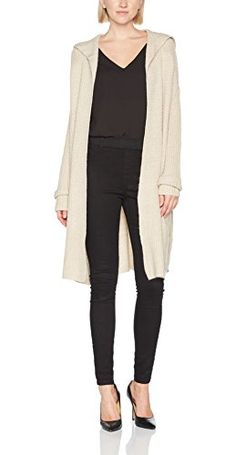 4422227874cf edc by ESPRIT Damen Strickjacke 097CC1I068 (Beige 270) Medium.  apparel   sweater