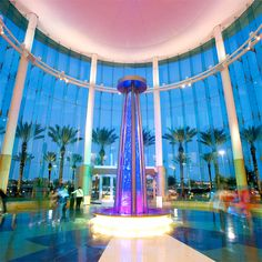 Mall of Millenia LED Fountain - Custom Design and Unique Use of LED Display Technology