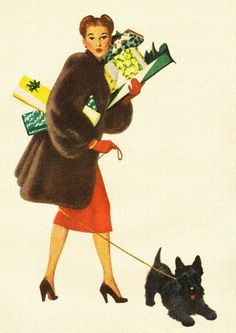Christmas Shopper - 1947