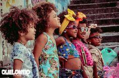 Crespas com orgulho: marca infantil lança editorial a favor dos cabelos crespos | Donna