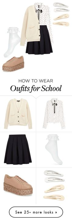 """""""S×C"""" by pianistrikjo on Polyvore featuring George, Proenza Schouler, Miss Selfridge, Shellys and Kitsch"""