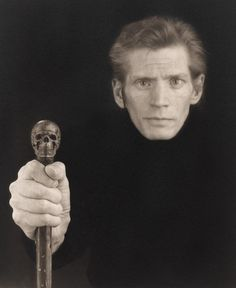 Robert Mapplethorpe Self Portrait 1988, taken a year before the artist's death: http://gu.gg/Fb6gD   #WorldAIDSDay