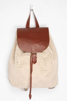 Kimchi Blue Crochet Backpack  #UrbanOutfitters Sale $39.99