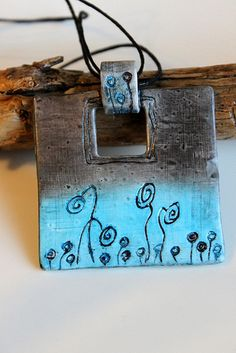 Polymer Clay Pendant   Flickr - Photo Sharing!
