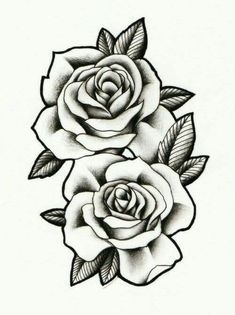 Roses to Print coloring pages: tatoo, realistic, fabric painting - realistic rose designs - Rose Drawing Tattoo, Pink Drawing, Tattoo Sketches, Tattoo Drawings, Rose Drawings, Rose Tattoo Cover Up, Watercolor Tattoos, Pencil Drawings, Art Drawings