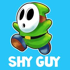How to Draw Shy Guy from Nintendo's Super Mario in Instructional Lesson - How to Draw Step by Step Drawing Tutorials Kids Activity Books, Activities For Kids, Charlie Brown Movie, How To Draw Steps, Shy Guy, Super Mario Brothers, Creature Concept Art, Step By Step Drawing, Cool