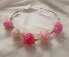 """Find and save images from the """"Flowers Crown ✿"""" collection by Accessories Maria (HMWithStyle) on We Heart It, your everyday app to get lost in what you love. Save Image, Handmade Accessories, Crown, Wreaths, Facebook, Bridal, Outfit, Earrings, Flowers"""